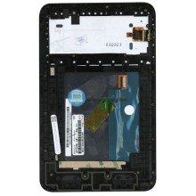 Модуль (матрица + тачскрин) Lenovo IdeaTab A3000 черный с рамкой