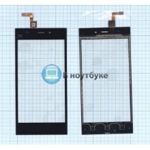 Тачскрин (сенсорное стекло) Xiaomi Mi-3 черный