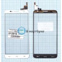 Сенсорное стекло (тачскрин) Alcatel Idol 2S 6050Y белый