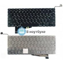 Клавиатура для ноутбука Apple A1286 без SD плоский ENTER