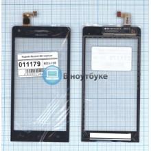 Сенсорное стекло (тачскрин) Huawei Ascend G6 черный
