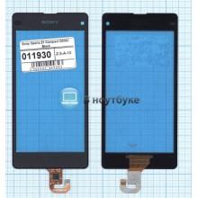 Сенсорное стекло (тачскрин) Sony Xperia Z1 Compact D5503 black