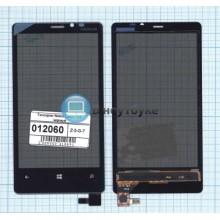 Сенсорное стекло (тачскрин) Nokia Lumia 920 черное