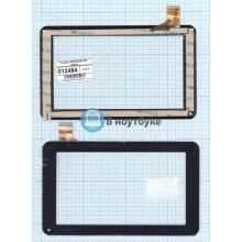 Сенсорное стекло (тачскрин) CZY6632A01-FPC черный