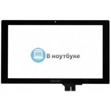 Сенсорное стекло (тачскрин) Asus VivoBook S200 X201 X202 18140-11630100 черное
