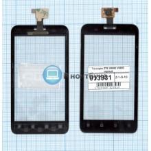 Сенсорное стекло (тачскрин) ZTE V880E Dual sim / V889D черное