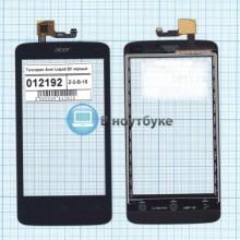 Сенсорное стекло (тачскрин) Acer Liquid Z4 черный