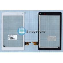 Сенсорное стекло (тачскрин) 070367-01A-V1 белый VER. 2