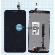 Модуль (матрица + тачскрин) Alcatel One Touch 5025D POP 3 черный