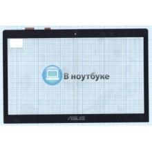 Сенсорное стекло (тачскрин) Asus S400 5343R FPC-1 черное