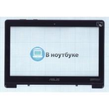 Сенсорное стекло (тачскрин) Asus S301L S301 черный с рамкой