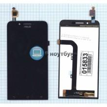Модуль (матрица + тачскрин) ASUS Zenfone Go ZC500TG черный
