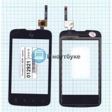 Сенсорное стекло (тачскрин) Fly IQ238  черный