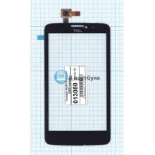 Сенсорное стекло (тачскрин) Alcatel One Touch SCRIBE EASY 8000D черный
