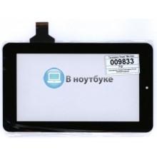 Сенсорное стекло (тачскрин) Texet TM-7024 черный