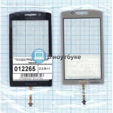 Сенсорное стекло (тачскрин) Philips Xenium X806 черное