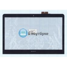 Сенсорное стекло (тачскрин) Sony SVF14 черный