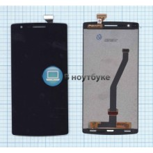 Модуль (матрица+тачскрин) OnePlus One черный