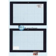 Сенсорное стекло (тачскрин) Sony Xperia Tablet Z черный I101FGT08.0