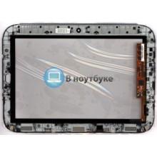 Сенсорное стекло (тачскрин) Lenovo IdeaPad K1 черный с рамкой