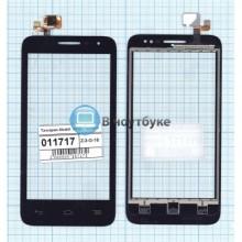 Сенсорное стекло (тачскрин) Alcatel POP D5 5038D черный