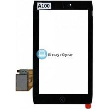 Сенсорное стекло (тачскрин) Acer Iconia Tab A100 A101 черный