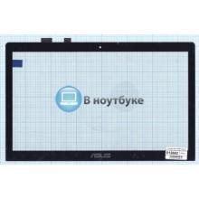 Сенсорное стекло (тачскрин) Asus TP500 черное
