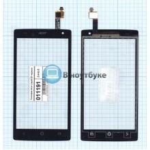 Сенсорное стекло (тачскрин) Acer Liquid Z5 черный