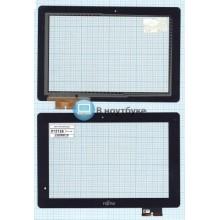 Сенсорное стекло (тачскрин) Fujitsu STYLISTIC M532 черный