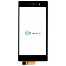 Тачскрин (сенсорное стекло) Sony Xperia Z1 черный