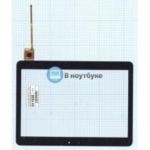 Сенсорное стекло (тачскрин) WGJ1084-J-V4 черный