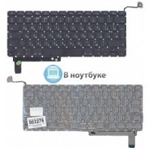 Клавиатура для ноутбука Apple A1286 с SD большой ENTER