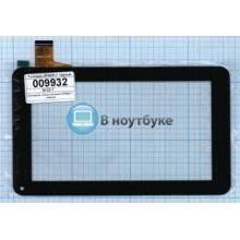 Сенсорное стекло (тачскрин) ZP9020-7 черный