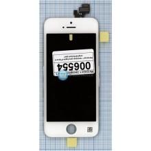 Модуль (матрица + тачскрин) Apple iPhone 5/5g Original белый