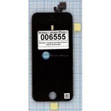 Модуль (матрица + тачскрин) Apple iPhone 5/5g Original черный