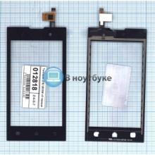 Сенсорное стекло (тачскрин) ZTE V815W v2 черное