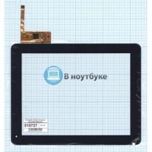 Сенсорное стекло (тачскрин) 300-L4567K-D00 black черный