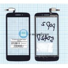 Сенсорное стекло (тачскрин) Alcatel POP 2 5042D черный