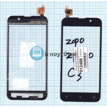 Сенсорное стекло (тачскрин) Zopo ZP980 черный