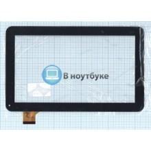 Сенсорное стекло (тачскрин) YCF0464-A черное
