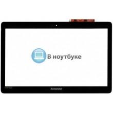 Сенсорное стекло (тачскрин) Lenovo U410 touch черное