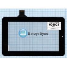 Сенсорное стекло (тачскрин) HLD-PG708S черный