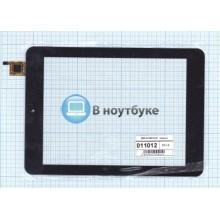 Сенсорное стекло (тачскрин) QSD E-C8015-01 черный
