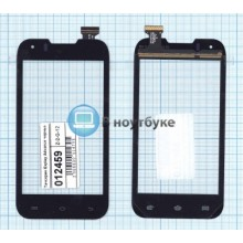 Сенсорное стекло (тачскрин) Explay Advance черный