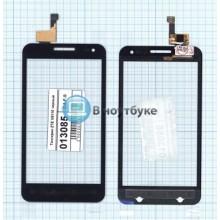 Сенсорное стекло (тачскрин) ZTE V8110 черный