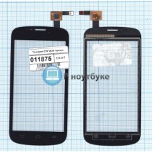 Сенсорное стекло (тачскрин) ZTE V829 черное