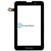 Сенсорное стекло (тачскрин) Lenovo IdeaTab A5000 черное
