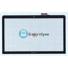 Сенсорное стекло (тачскрин) Sony Vaio SVF152 черный