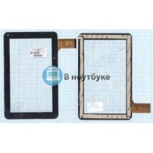 Сенсорное стекло (тачскрин) CZY6439A01-FPC черный