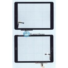 Сенсорное стекло (тачскрин) Apple iPad Air + Home черное